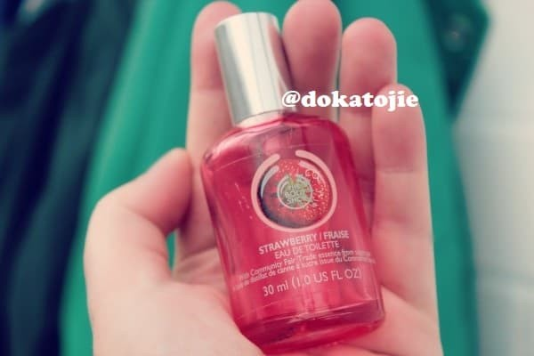 The Body Shop STRAWBERRY EAU DE TOILETTE Original Reject (30ml)
