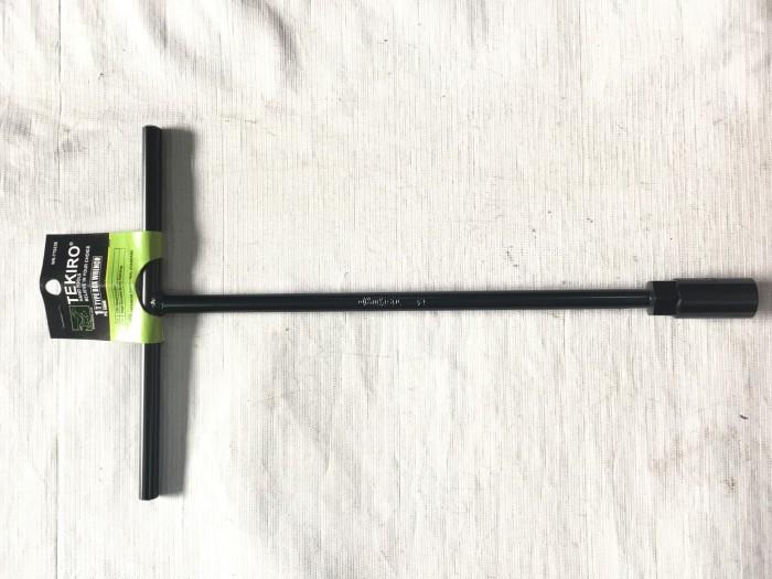 Kunci Sock T Hitam TEKIRO ukuran 7 8 9 10 11 12 13 14 mm