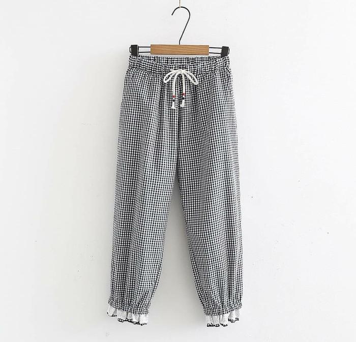 bawahan celana panjang wanita alma pants murah