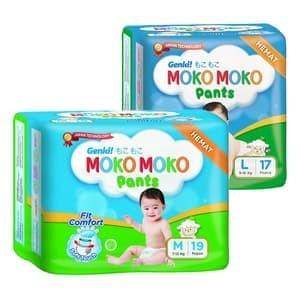 Genki MOKO-MOKO pants - M19