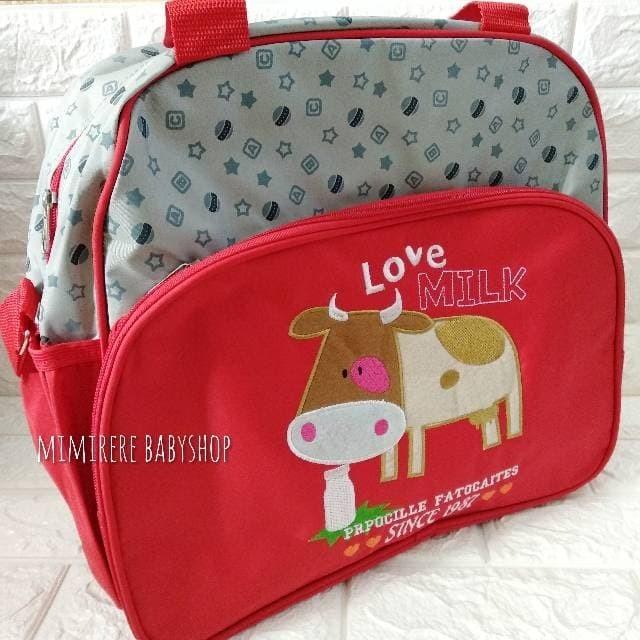 harga Carter diaper bag love milk besar / tas popok bayi carter love milk bi Tokopedia.com