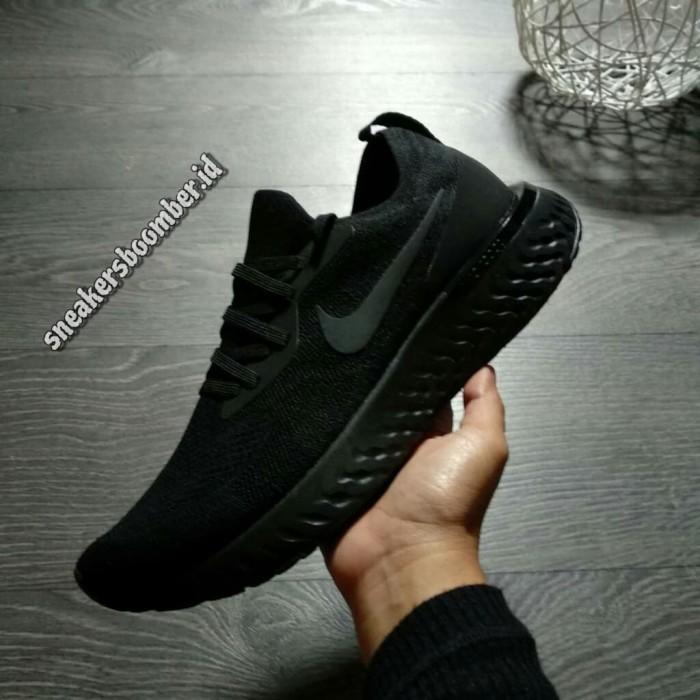 buy popular 99132 b0d42 Jual Nike Lunar Epic React Flyknit All Black - DKI Jakarta -  sneakersboomber.id | Tokopedia