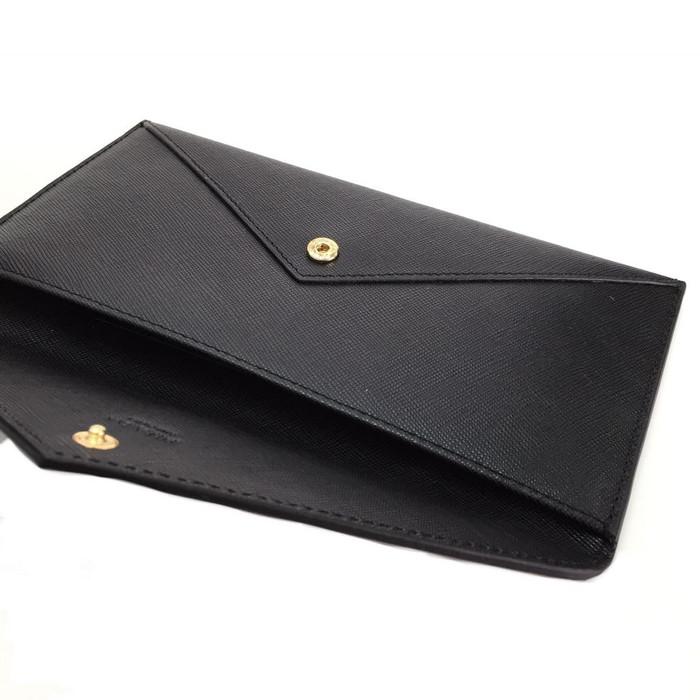 7cf7a188deb10f Jual PRADA Saffiano Envelope Wallet - longchamp.mania | Tokopedia