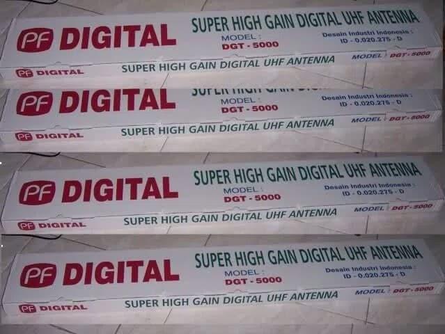 Foto Produk Antena TV Digital Analog Outdoor PF Digital 5000 Terbaru dari PERTANIAN TERANGI TANI