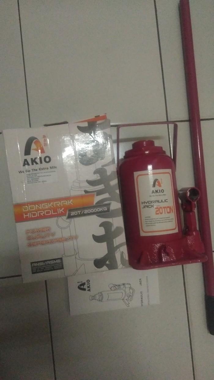 Jual Dongkrak Hidrolik Botol Mobil Truk Universal 20 Ton Akio Bagus Murah Kab Tangerang Pusat Derdil Grosir