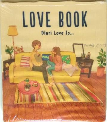harga Love is book bonus tas kantong cantik Tokopedia.com