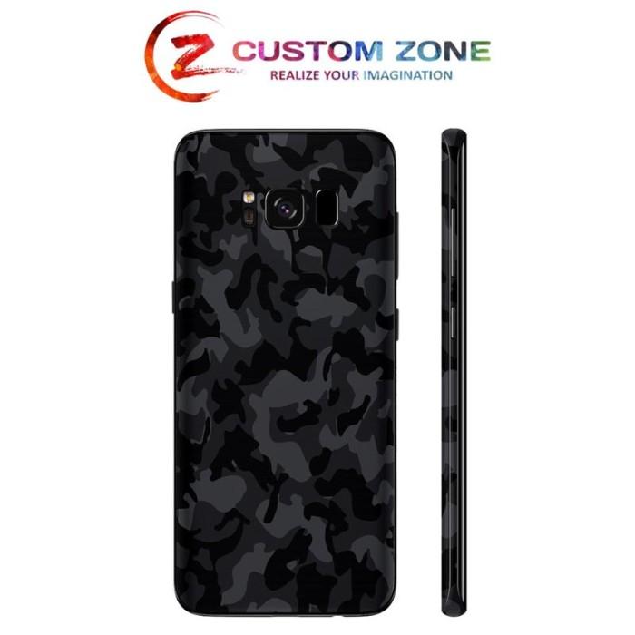 harga [customzone] samsung s8 3m skin / garskin - black camo Tokopedia.com