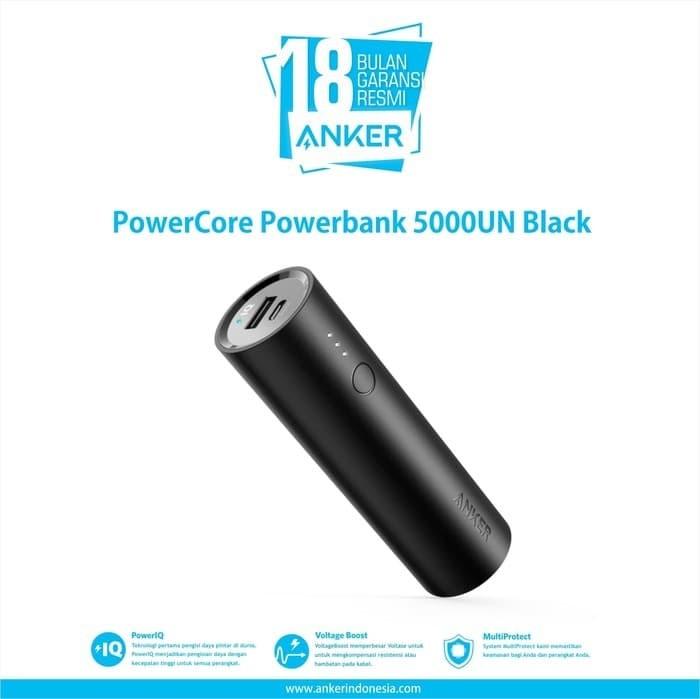 Anker powercore powerbank 5000mah black