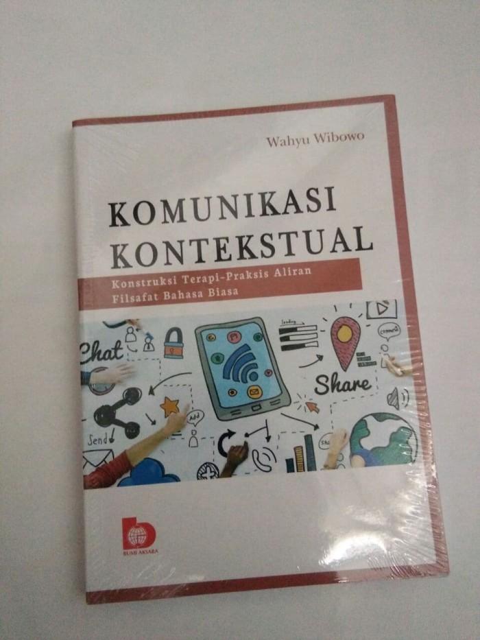 Buku Komunikasi Kontekstual Wahyu Wibowo Terlaris
