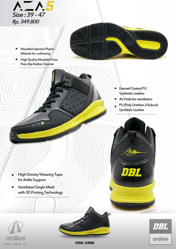 Mantap Barang By A61wixqn Basket Sepatu Pria Aza 5 Dblardiles Jual Harga RLc4j35Aq