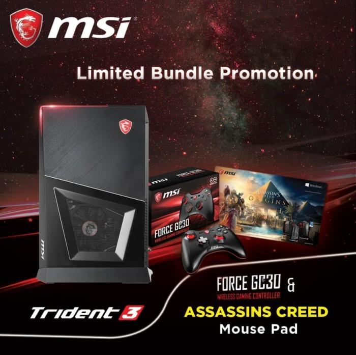 harga Msi trident 3 - i7 8700 / 16gb / 256gb / 1tb / gtx 1070 8gb / win10 Tokopedia.com