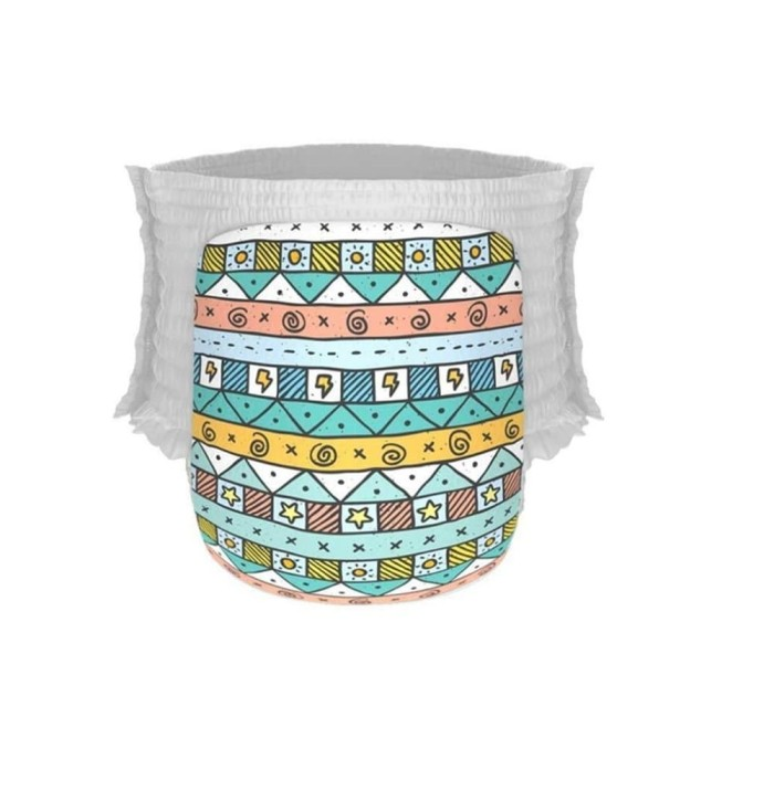 Happy Diapers Pants XL 22 Sunny Tribal