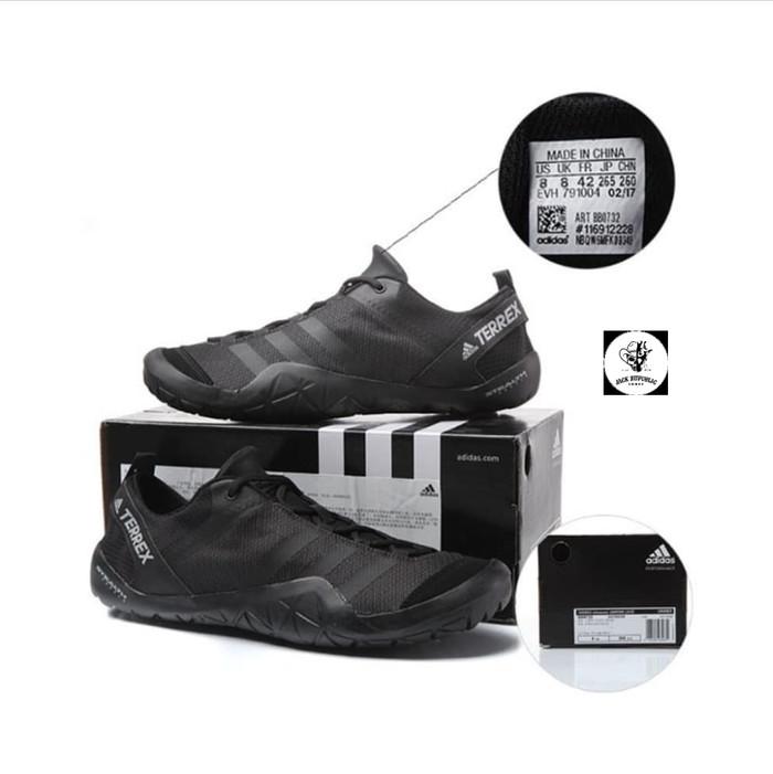 harga Sepatu sneakers adidas terrex climacool jawpaw la black original Tokopedia.com