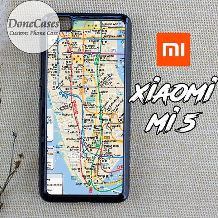 Jual Casing Xiaomi Mi 5 Nyc Subway Map Hard Case Custom - Kota Semarang -  donecases   Tokopedia