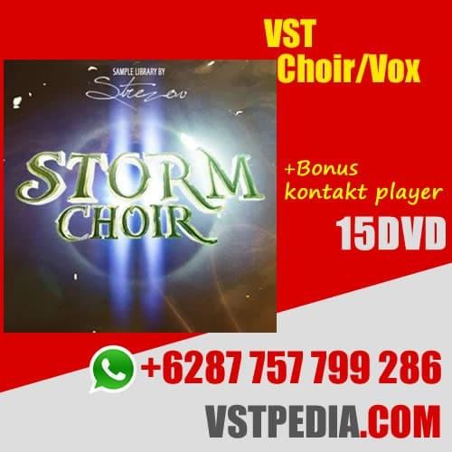 Jual VST Choir/vox - Strezov Sampling Storm Choir 2 - Radja wordpress |  Tokopedia