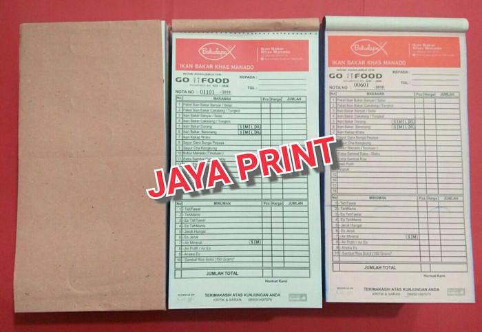 Jual Nota Rangkap 2 Ukuran 13 Folio Kota Semarang Jaya Printing Semarang Tokopedia