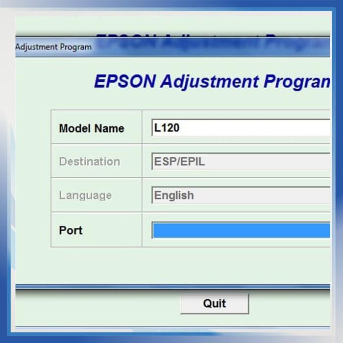 Jual Resetter / Reseter / Reset Printer Epson L120 - Toko Printer Indonesia  | Tokopedia