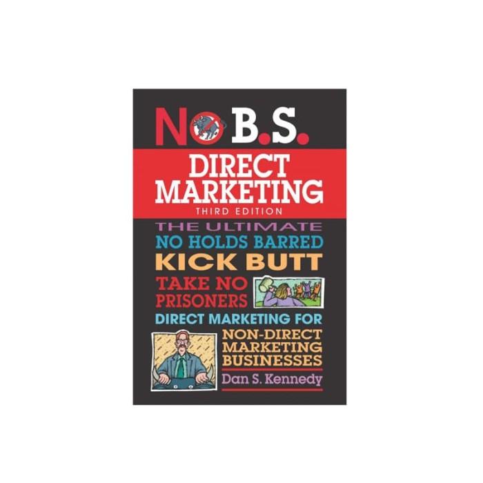 harga Nobs direct marketing 3rd edition Tokopedia.com