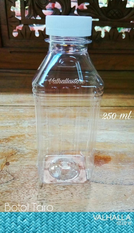 Foto Produk Botol Taro / Yogurt / Susu / Milky kotak gelombang 250ml dari Valhalla Store Official