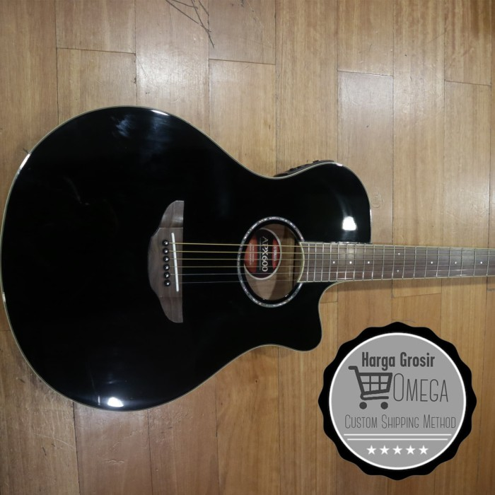 harga Yamaha apx 600 black / guitar yamaha apx 600 black / akustik electric Tokopedia.com