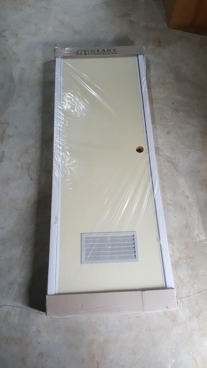 Jual Pintu Kamar Mandi Pvc Giant Paket Kunci Silinider Ud