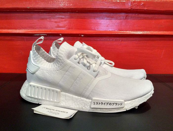 417311fe4 Jual Adidas NMD R1 PrimeKnit JAPAN Triple white size 43 1 3 - koopa ...