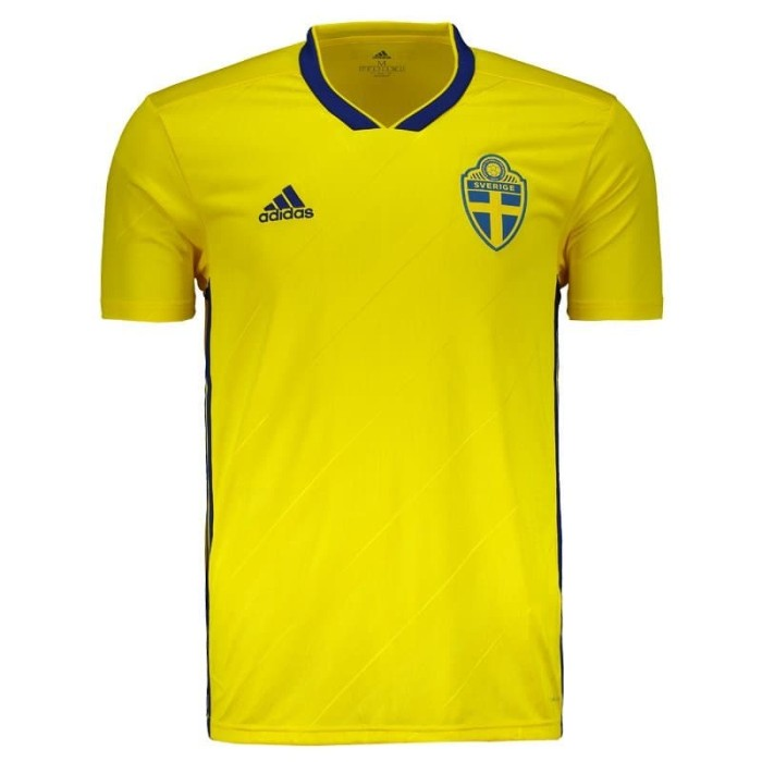 Jual Jersey Sweden Swedia Home World Cup 2018 Grade Ori Top Quality ... 684c16647