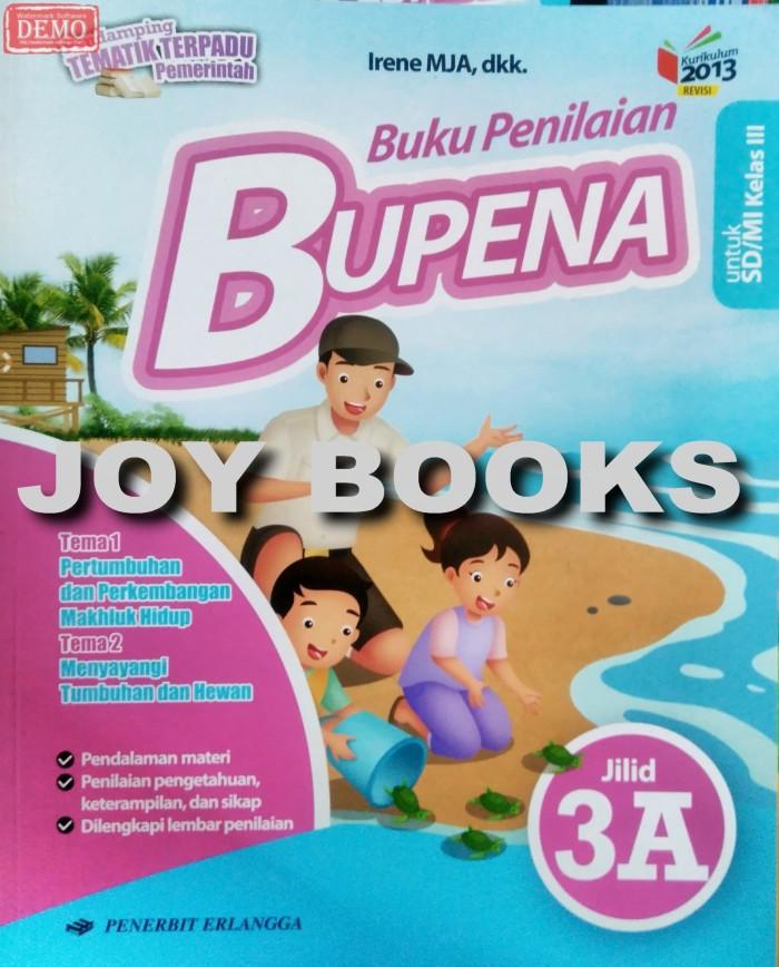 Foto Produk BUPENA 3A 3B 3C 3D ERLANGGA / BUKU LATIHAN SOAL TEMATIK SD KELAS 3 dari Joy Books