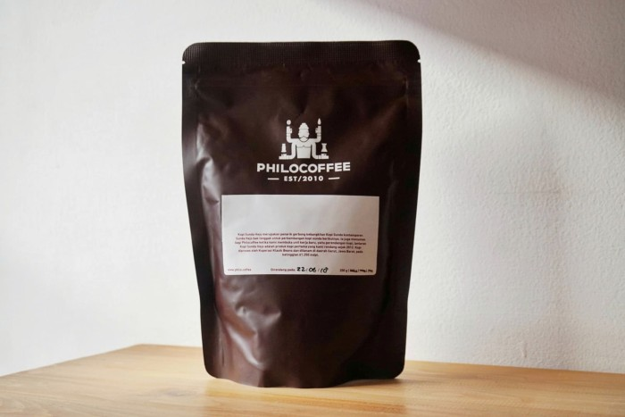 Foto Produk Biji Kopi Arabika Sunda Palasari Black Honey 200g | Preanger Coffee dari Philocoffee