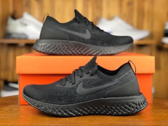 6b5708453e9f Sepatu nike epic react flyknit black premium grade ori cowok men 40-45 -  Hitam