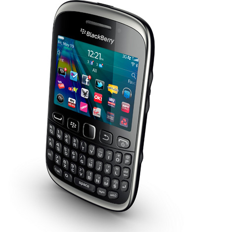 Hp blackberry amstrong 9320 3G GSM NEW - Hitam