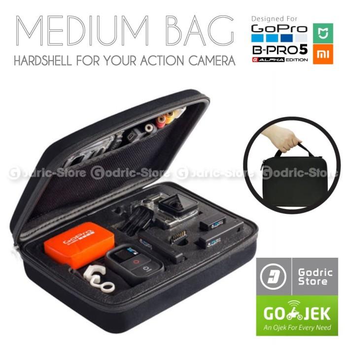 Foto Produk Action Cam Medium Size Bag/Tas/Case for SJCAM SJ4000 & GOPRO HERO 3+/3 dari Godric Store
