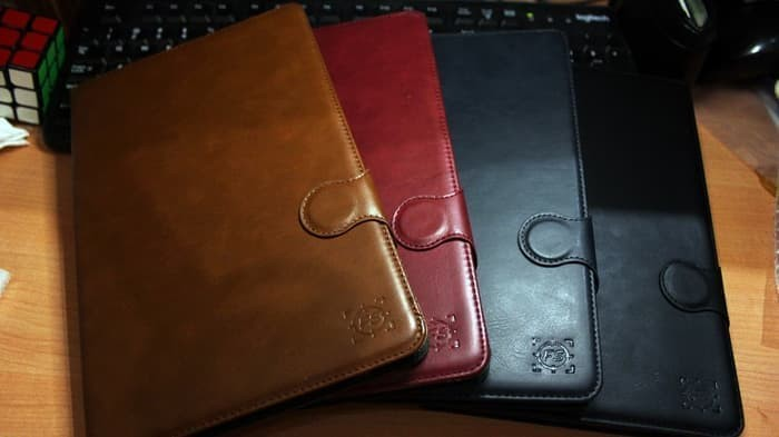 Samsung Galaxy Tab A 8 With S-Pen P355 Leather Flip Case Casing Cover