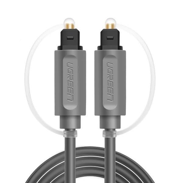 Foto Produk Ugreen Optical Toslink Digital Audio Cable 1M (AV122)10768 - Grey dari Inti Sukses