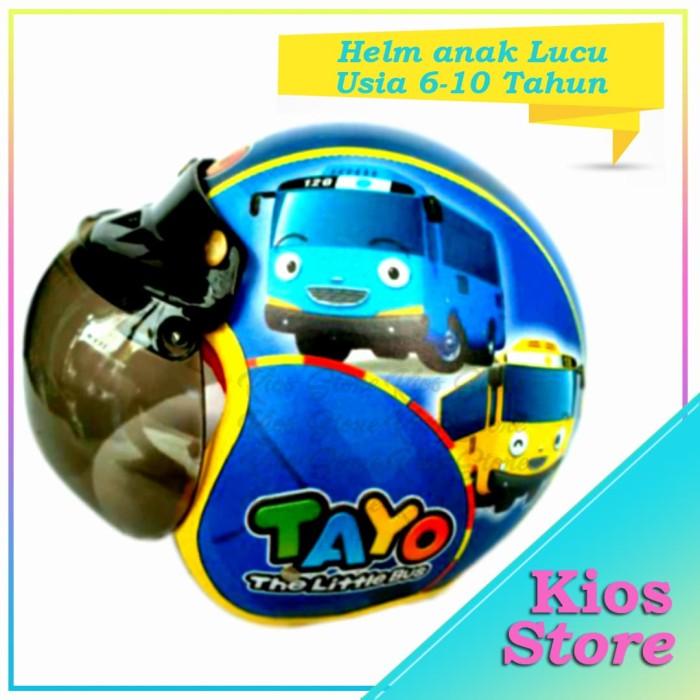 harga Helm bogo pilot anak karakter tayo usia 6-10 tahun Tokopedia.com