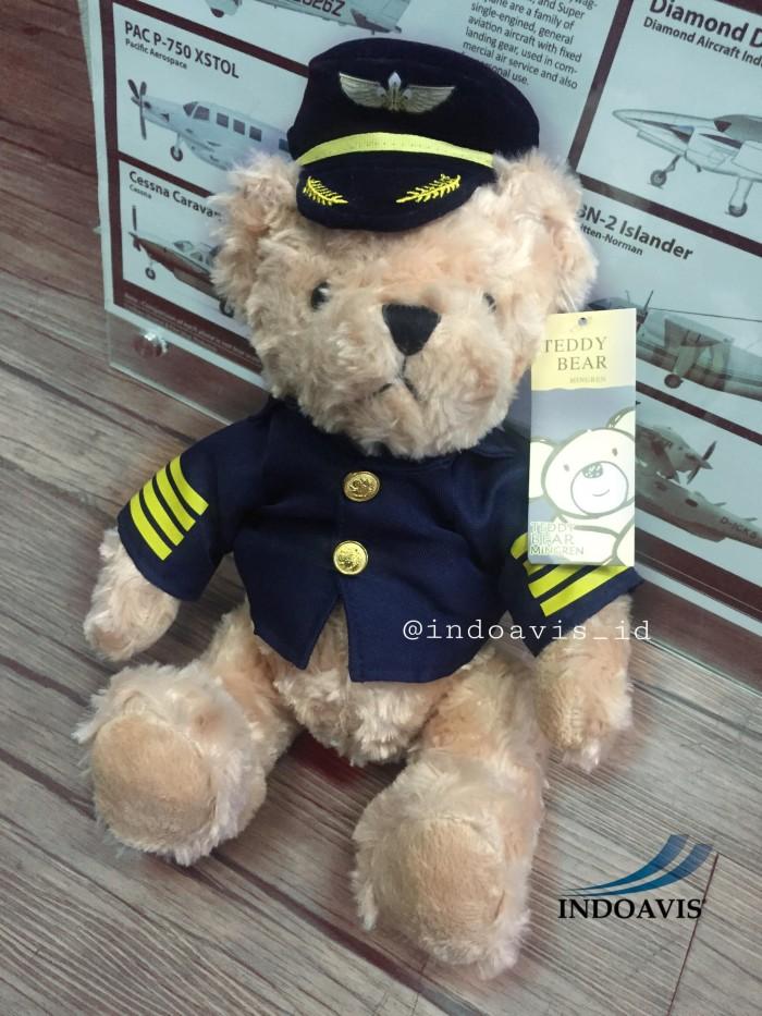Jual Boneka Teddy Bear Profesi Pilot - Indoavis Pilot Shop  39f5cbc8b5