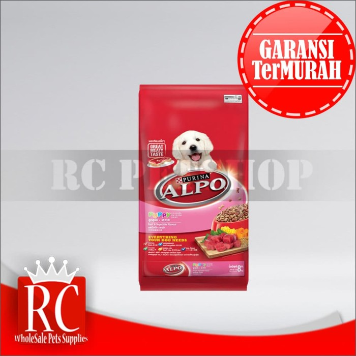 Makanan Anjing / Dog Food Puppy Beef & Vegetable 8 Kg