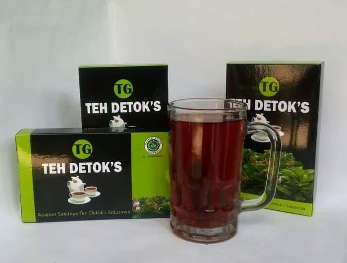 Teh Detok's,teh Hitam Dengan Sirgunggu,utk Asma,Sinusitis Jawa Tengah