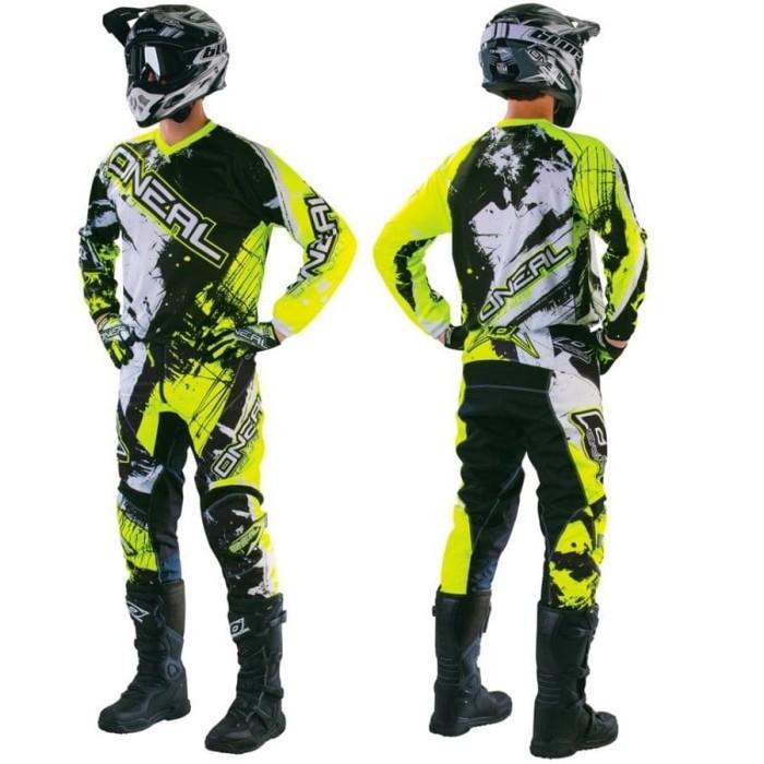 harga Motocross jersey set 007 Tokopedia.com