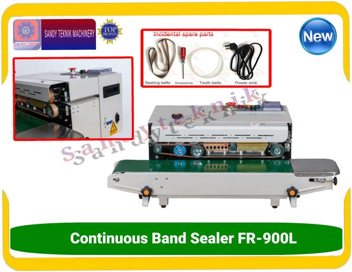 Jual Mesin Kemas Plastik Continous Band Sealer FR-900L Cocok untuk Spanduk  - Kab  Tangerang - Sandyteknikmachinery | Tokopedia