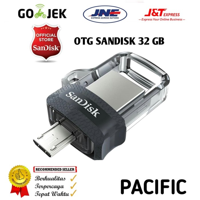 OTG Flash Disk Sandisk 32 GB Ultra Dual Drive M3.0 Garansi Resmi