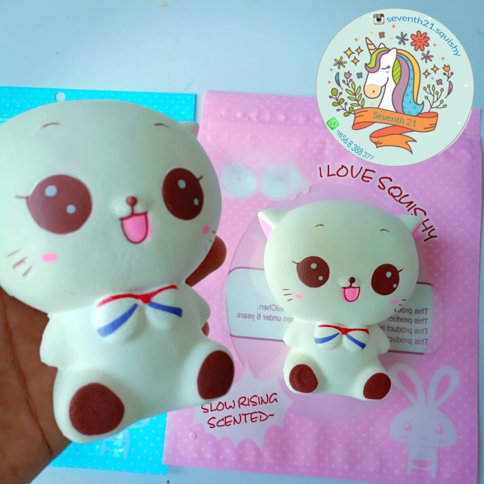 Jual squishy cat squishy kucing murah squishy jumbo Gratis packaging ... 405fcd8a25ca