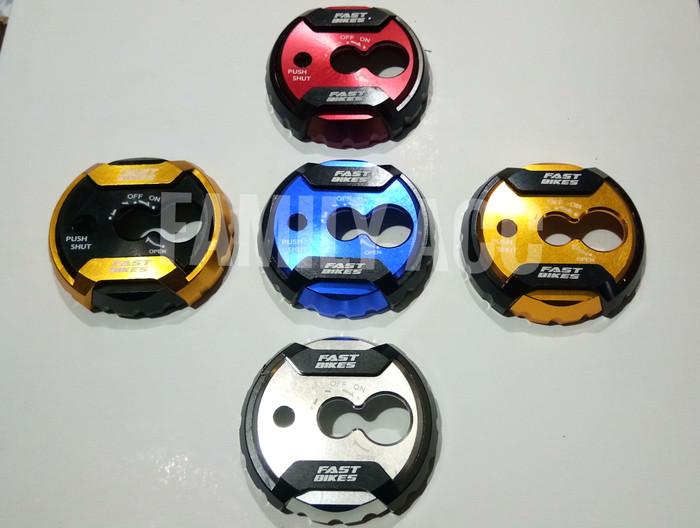 harga Cover kunci kontak 2 tune motor nmax / soul gt / xeon / dll cnc Tokopedia.com