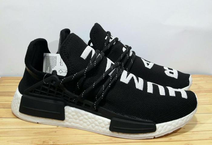 timeless design 05a82 0b1be Jual Adidas NMD Human Race Black White -Premium Quality - Jakarta Selatan -  Good Sneakers | Tokopedia