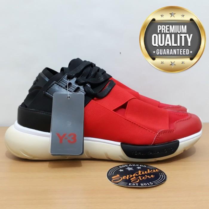 094e20751 Jual Sepatu Adidas Y3 Qasa Yohji Yamamoto Royal Red   Black Red ...