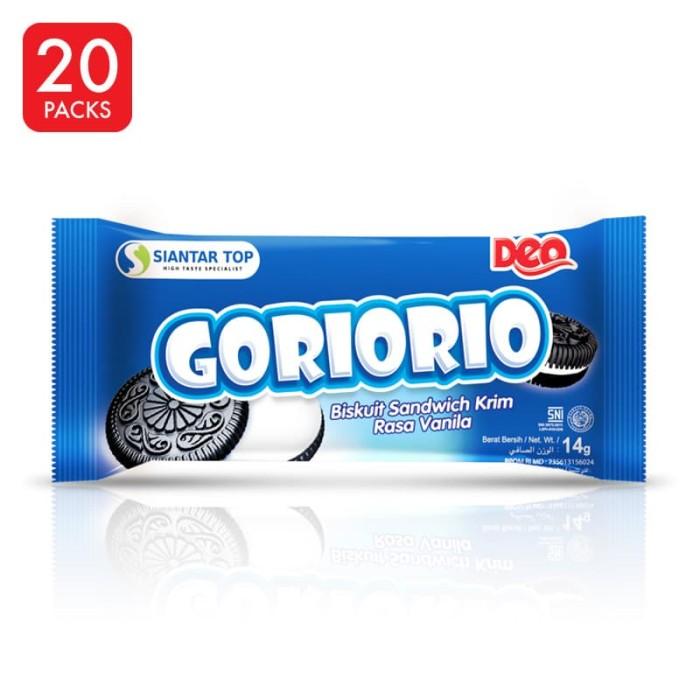 harga Goriorio vanilla 20 pcs x 14 gr - siantartop Tokopedia.com