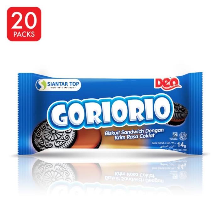 harga Goriorio coklat 20 pcs x 14 gr - siantartop Tokopedia.com