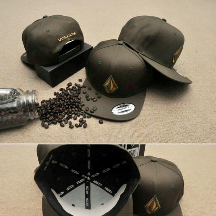 Jual topi snapback volcom cap original import hat - topikulaku ... e9506639cd4