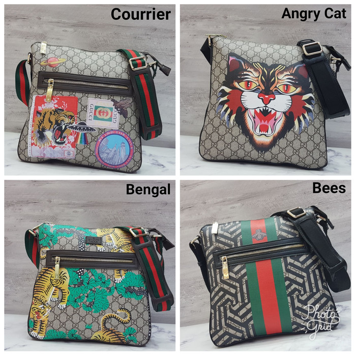 51589ba5a Jual Gucci Courrier GG Supreme Messenger Bag / Tas Selempang Pria ...