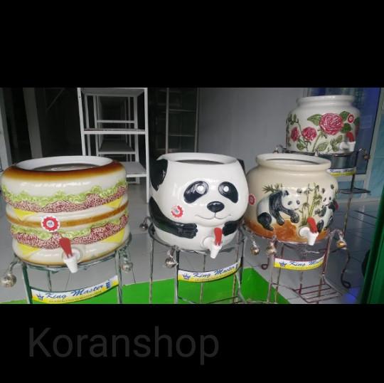 harga Guci galon keramik dispenser keramik Tokopedia.com